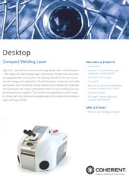 Depliant anteprima - Laser Desktop (inglese)
