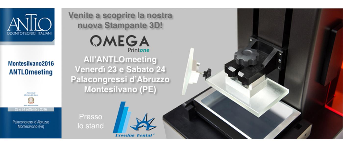 Evento - Presentazione Stampante 3D ANTLOmeeting 2016