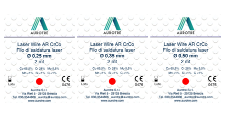 Saldature - Laser Wire CrCo