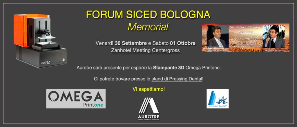 Evento - Esposizione Stampante 3D Forum Siced Bologna 2016